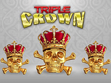 Онлайн-автомат в клубе Вулкан Triple Crown